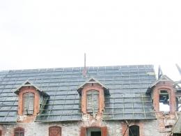 Замок Шаакен - внутренний двор