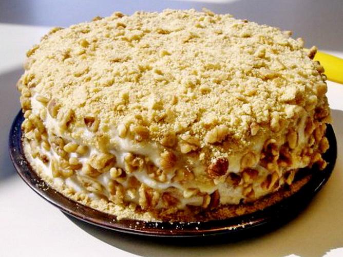 Простой торт на сковороде рецепт