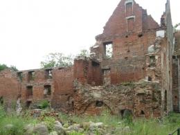 Замок Инстербург, общий вид