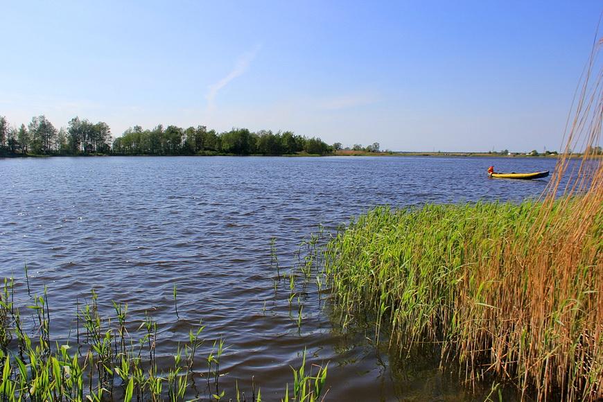 Рыбалка на голубых озерах в калининграде