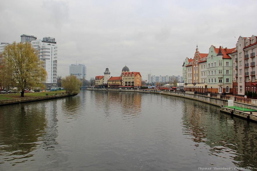 Фото реки преголи